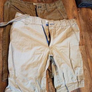 2 pair Aeropostale shorts